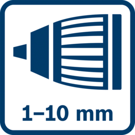 Autolock chuck 1.0 - 10.0 mm