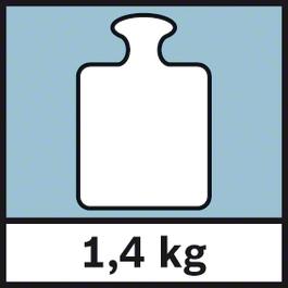 GWM 32 Weight 1.4 kg Weight 1.4 kg