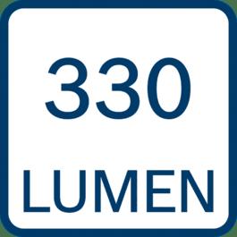 330 lumens