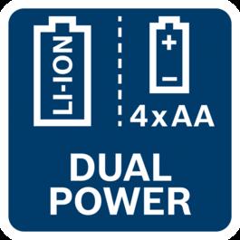 Dual power source
