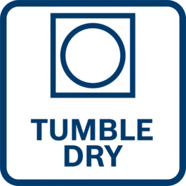 Tumble dry on a low temperature setting.
