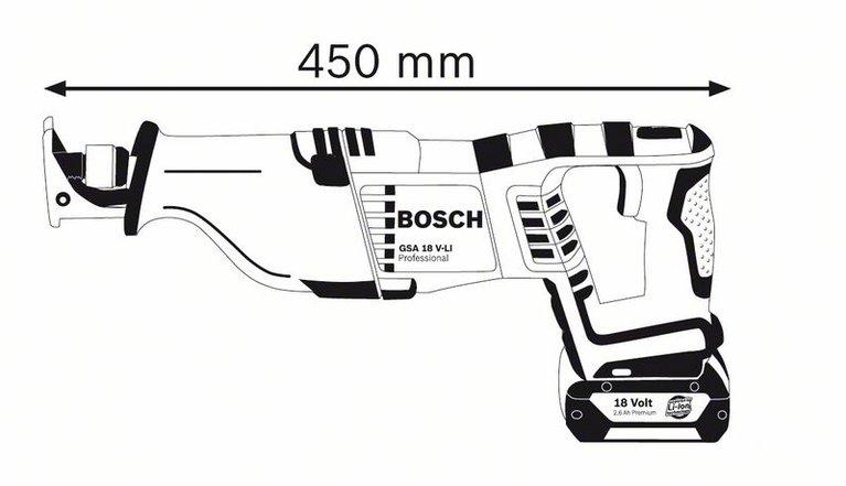 GSA 18 V-LI (solo version*)